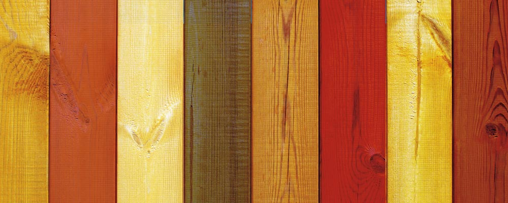 Eco Chemical Colorful Fence Stain